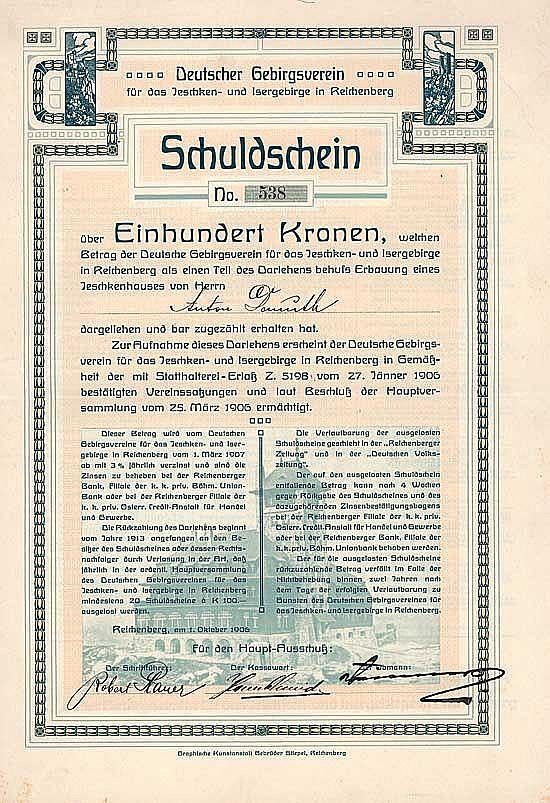 Deutscher Gebirgsverein für das Jeschken- und Isergebirge
