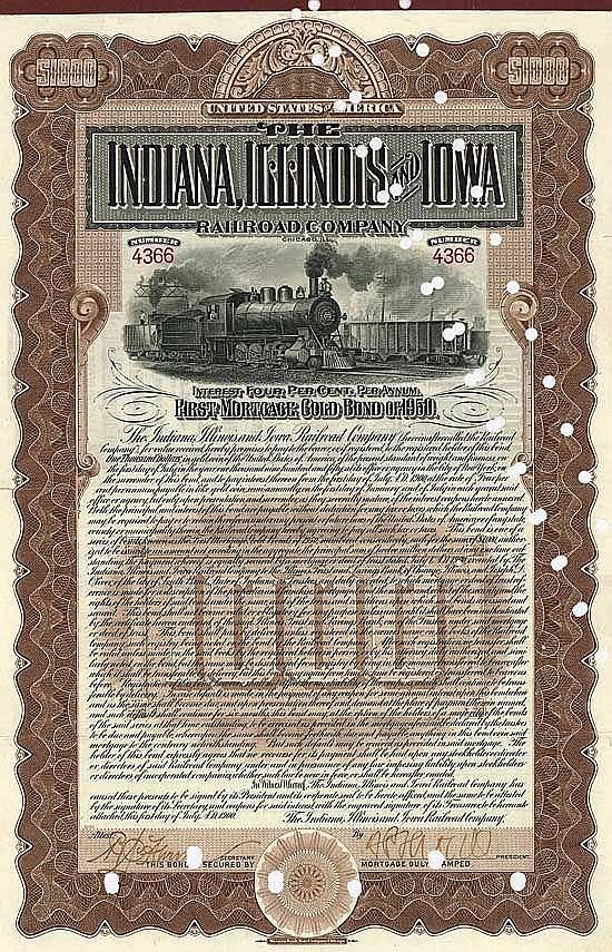 Indiana, Illinois & Iowa Railroad