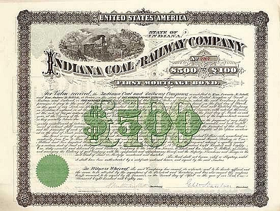 Indiana Coal and Railway Co.