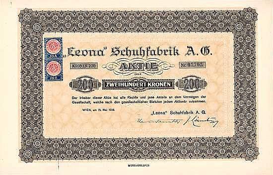 """Leona"" Schuhfabrik AG"