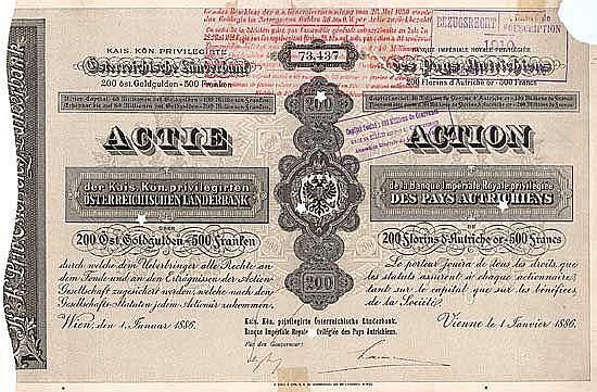 K.k.priv. Österreichische Länderbank