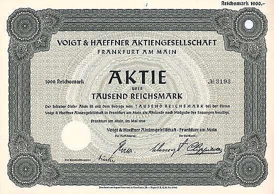 Voigt & Haeffner AG