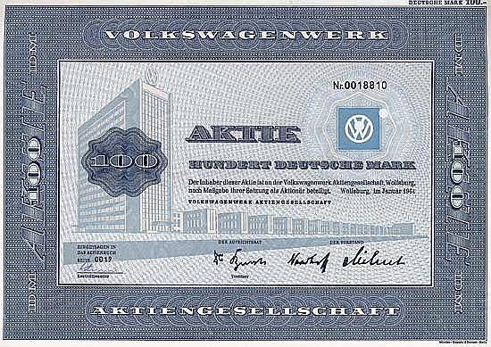Volkswagenwerk AG