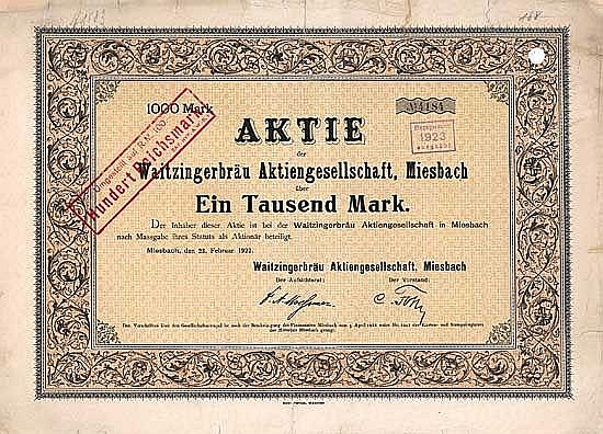 Waitzingerbräu AG