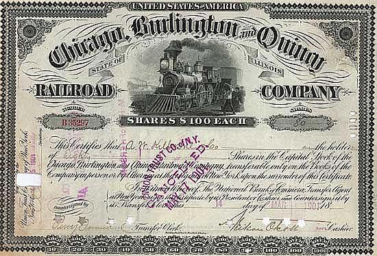 Chicago, Burlington & Quincy Railroad