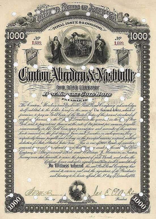 Canton, Aberdeen & Nashville Railroad
