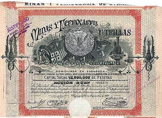 Minas y Ferrocarril de Utrillas S.A.