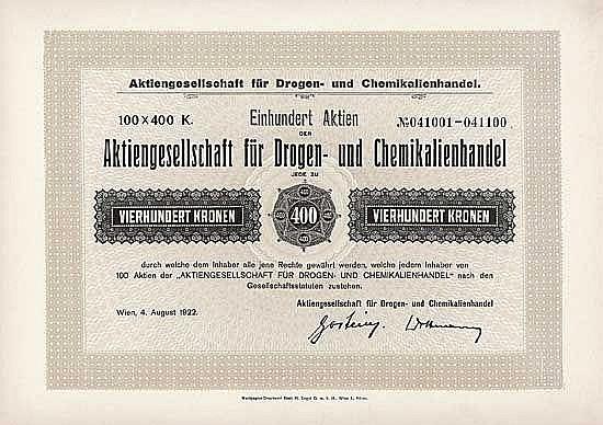AG für Drogen- und Chemikalienhandel