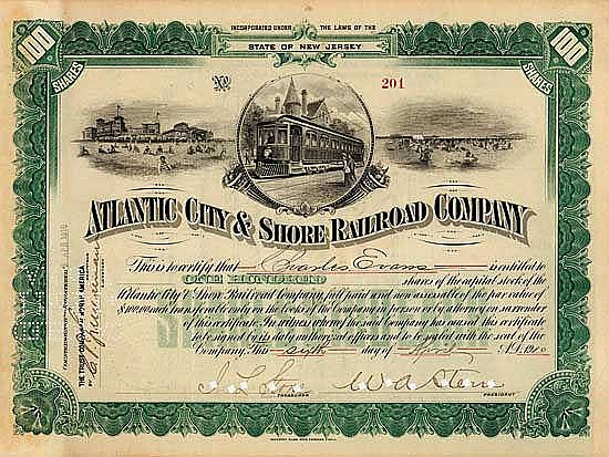 Atlantic City & Shore Railroad
