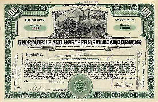 Gulf, Mobile & Northern Railroad