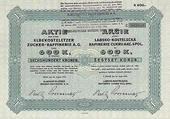 Elbekosteletzer Zucker-Raffinerie AG