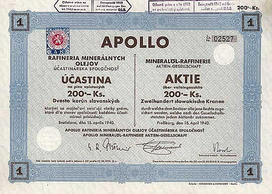Apollo Mineralöl-Raffinerie AG