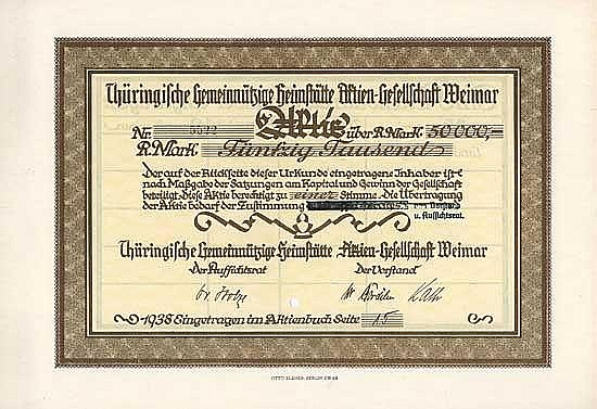 Thüringische Gemeinnützige Heimstätte AG
