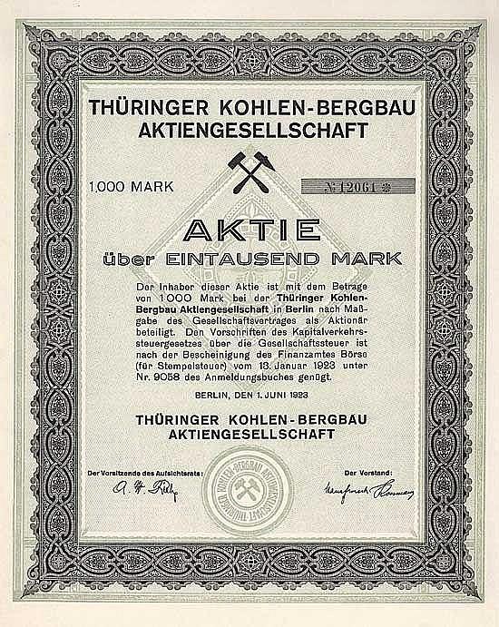 Thüringer Kohlen-Bergbau AG