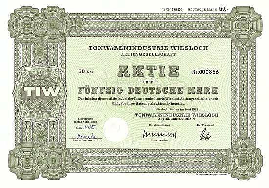 Tonwarenindustrie Wiesloch AG