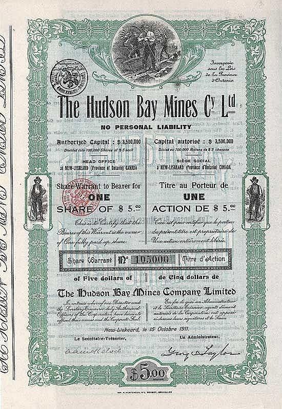 Hudson Bay Mines Company Ltd.