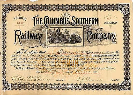 Columbus Southern Railway