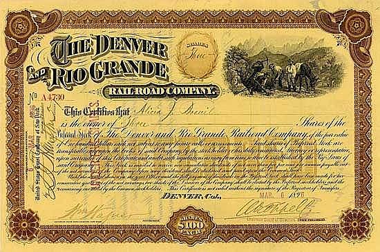 Denver & Rio Grande Railroad