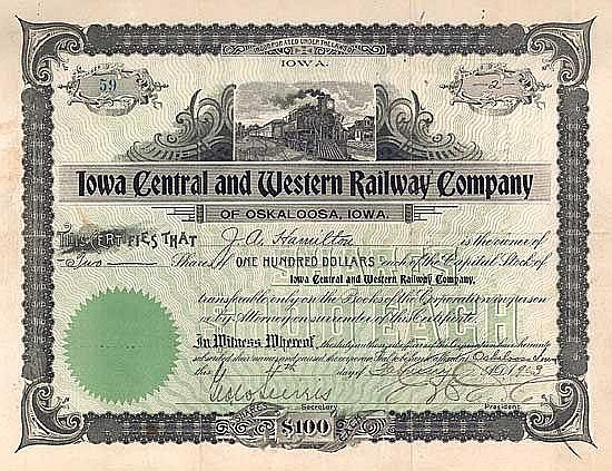 Iowa Central & Western Railway