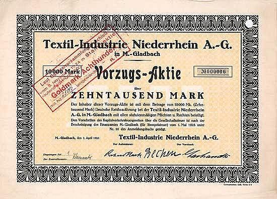 Textil-Industrie Niederrhein AG