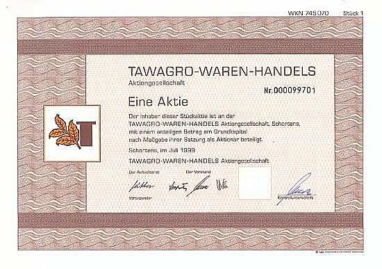 TAWAGRO-WAREN-HANDELS-AG