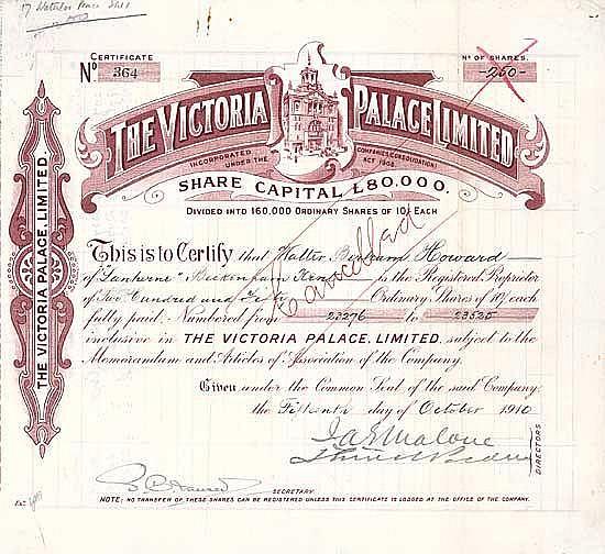 Victoria Palace Ltd.