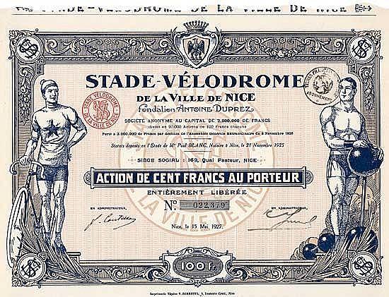 Stade-Vélodrome de la Ville de Nice S.A.