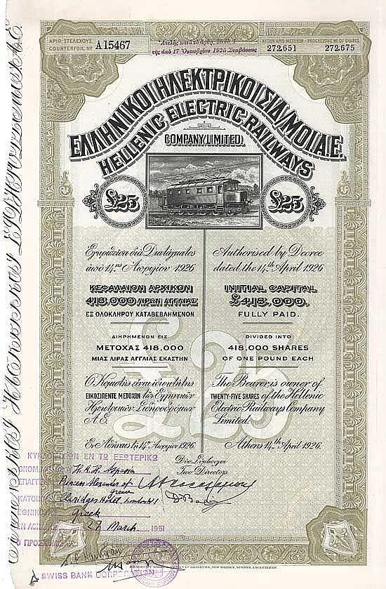 Hellenic Electric Railways Co.
