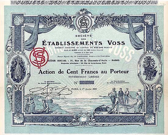 Société des Établissements Voss S.A.