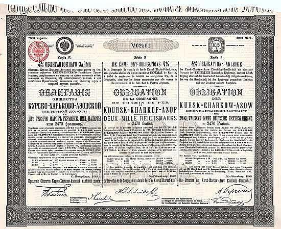 Kursk-Charkow-Asow Eisenbahn-Gesellschaft