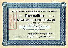 Baumwoll-AG