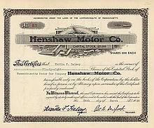 Massachusetts Motor Car Co. (ehemals Henshaw Motor Co.)
