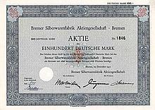 Bremer Silberwarenfabrik AG