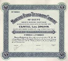 Marconi Radio Telegraph Co. of Egypt