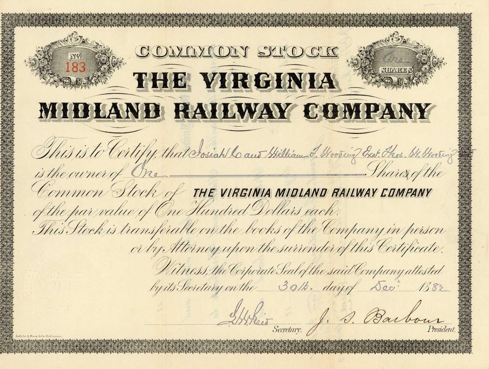 Virginia Midland Railway
