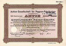 AG für Pappen-Fabrikation