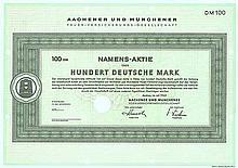 Aachener und Münchener Feuer-Versicherungs-Gesellschaft