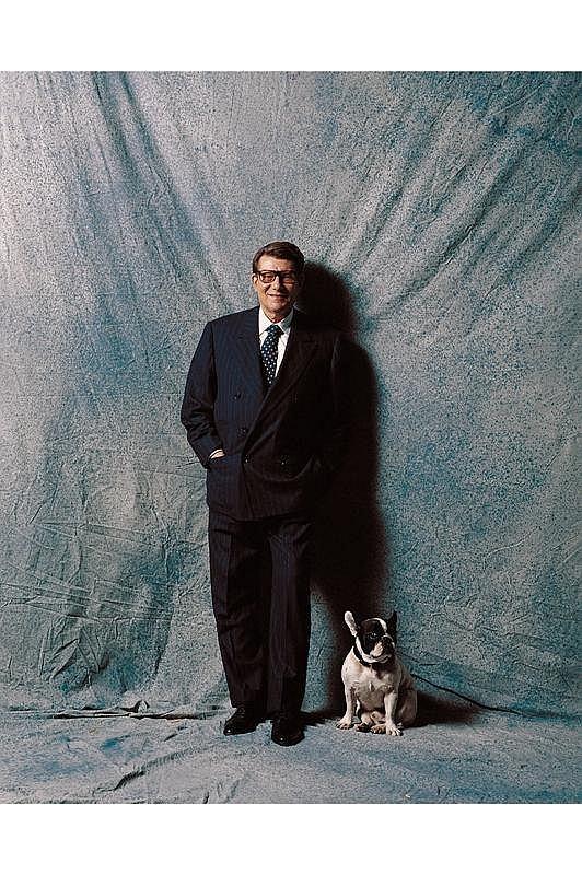 Jean-Marie PERIER (né en 1940). Yves Saint-Laurent