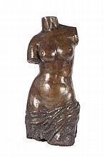 François Clément MOREAU  (1831-1865)  Renommée.  Plâtre patiné à l'imitation du bronze.  Marqué sur un cartouche Renommée  par F. Moreau (Méd. D'or).  H. : 72 cm.
