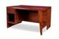 PIERRE JEANNERET (1896-1967) Bureau dit Office table. Teck massif, cuir. 71 x 122 x 84 cm. Circa 1957. Provenance : - Chandigarh, Inde.
