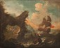 Pieter II MULIER (c.1637-1701) Attribué à Navire en mer près des côtes. Toile. 62 x 74 cm.