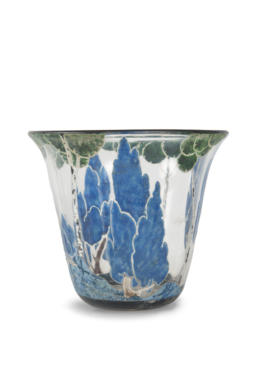 Marcel goupy artwork for sale at online auction marcel for Decoration vase en verre