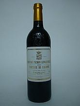1 bouteille  CHÂTEAU PICHON COMTESSE DE LALANDE 2005 GCC2 Pauillac