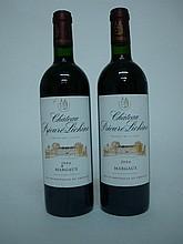 2 bouteilles   CHÂTEAU PRIEURE LICHINE 2006 GCC4 Margaux
