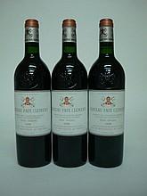 3 bouteilles   CHÂTEAU PAPE CLEMENT 1998 CC Graves (1 e.t.h. légère)