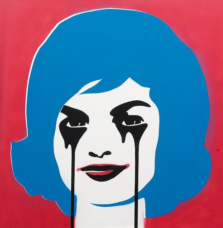 Pure EVIL (1968) Jfk's nightmare. Peinture aérosol