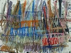 Georges AUTARD (né en 1951) - Les rateaux,