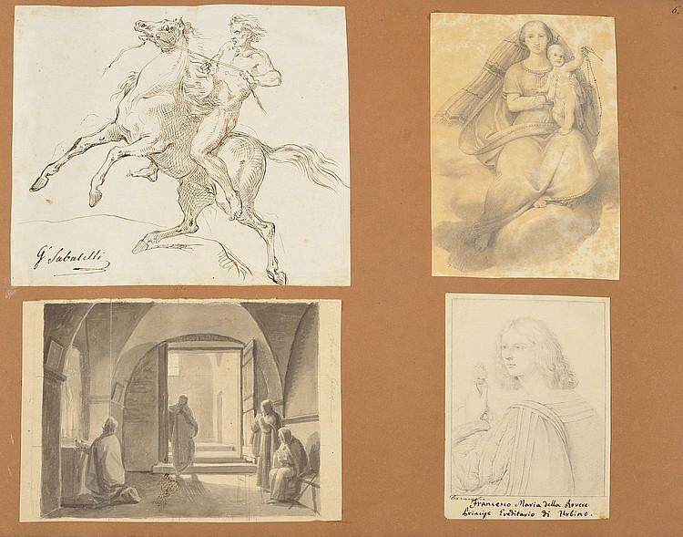 Giuseppe SABATELLI (Milan 1813 - Florence 1843)Un