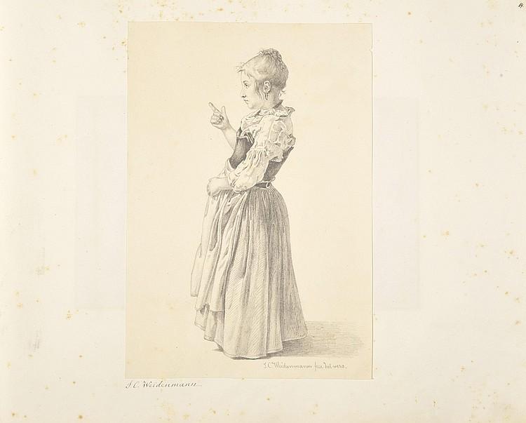 Johan Caspar WEIDENMANN (Wintherthur 1805 -