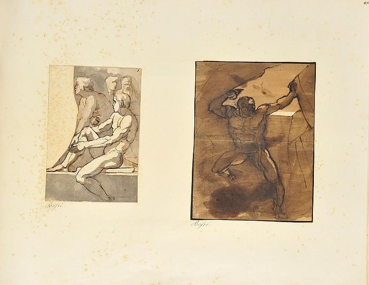 Giuseppe BOSSI(Milan 1777 - 1815)Etude de